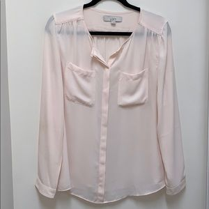 Button down long-sleeve from Loft!